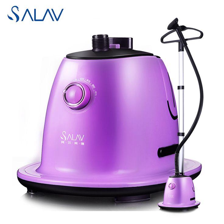 Salav gs72-bj vertical vapor de la ropa para la ropa 1500 w 360d 1.7l giratoria suspensión estable ampliado polo 6 accesorios