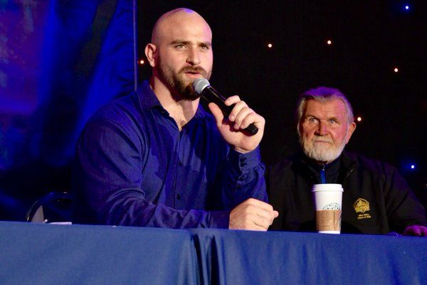 Chicago Bears (@ChiBearsSTH) | Kyle Long and Mike Ditka