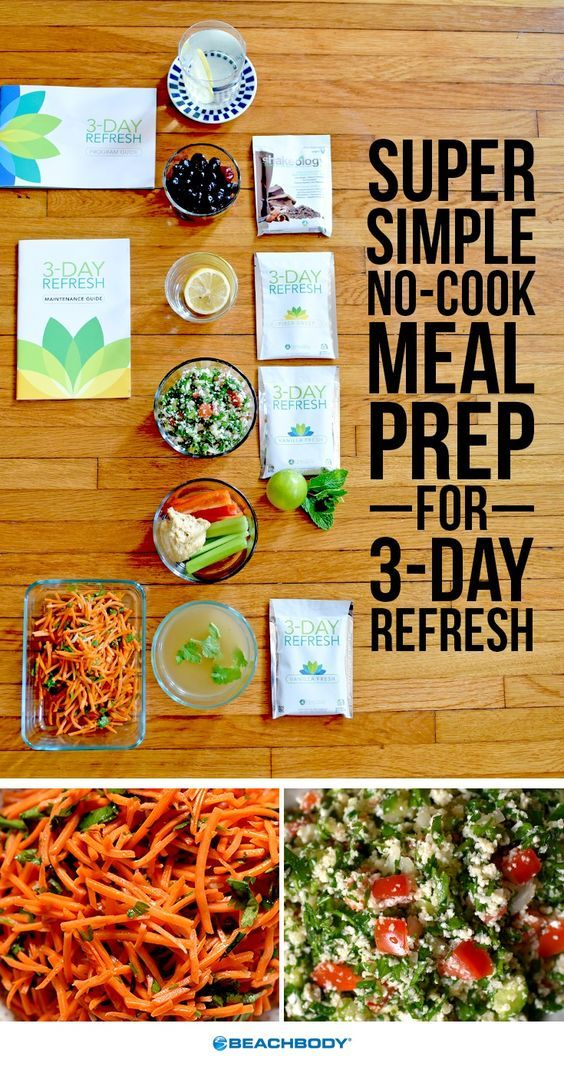 3-Day Refresh gives people an opportunity to refocus their health goals, give their bodies and digestive systems a break, and take stock of habits that may not be contributing positively to their health. Here is a super simple meal prep that will guide you through making all of your meals in under an hour without cooking a single thing! // meal prep // refresh // 3 Day Refresh // 3 Day Refresh recipes // no cook // easy to make // meal planning // Beachbody // BeachbodyBlog.com