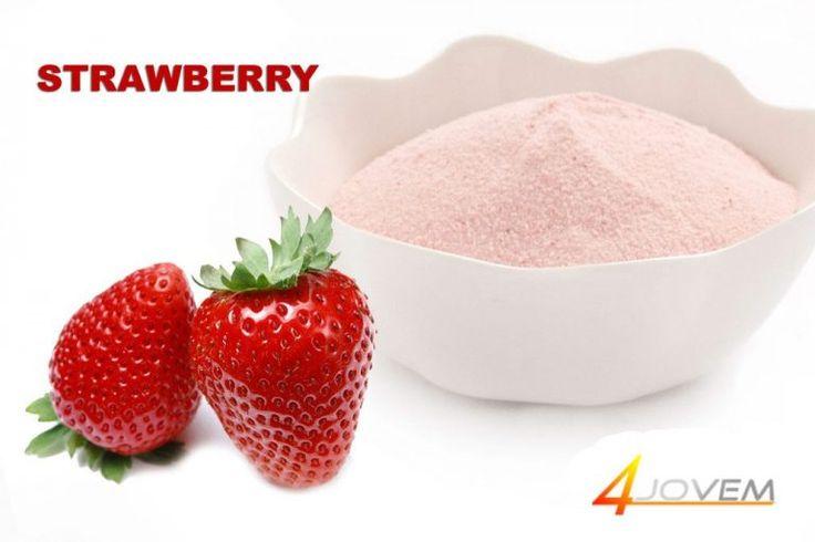 Manfaat Strawberry Yang Ada Pada Jovem Gluberry Collagen Drink
