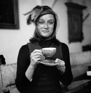 Artist & sculptor, Niki de Saint-Phalle in Neuilly-sur-Seine, France, October 29,1930. Learn about her work & her Tarot garden at http://www.nikidesaintphalle.com/