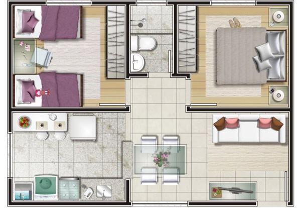 Resultado De Imagen Para Casas 6x9 Com Garagem Plantas De Casas Plantas De Casas Pequenas Projetos De Casas