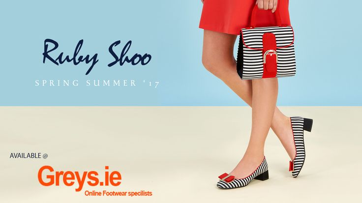 Check out the New Spring Ruby Shoo collection Greys.ie  Available instore and #orderonline. #freedelivery  http://www.greys.ie/ladies-footwear/ruby-shoo/ruby-shoo-spring-summer-17.html?utm_campaign=coschedule&utm_source=pinterest&utm_medium=Grey%27s&utm_content=Ruby%20Shoo%20Spring%20Summer%2017%20-%20Greys.ie