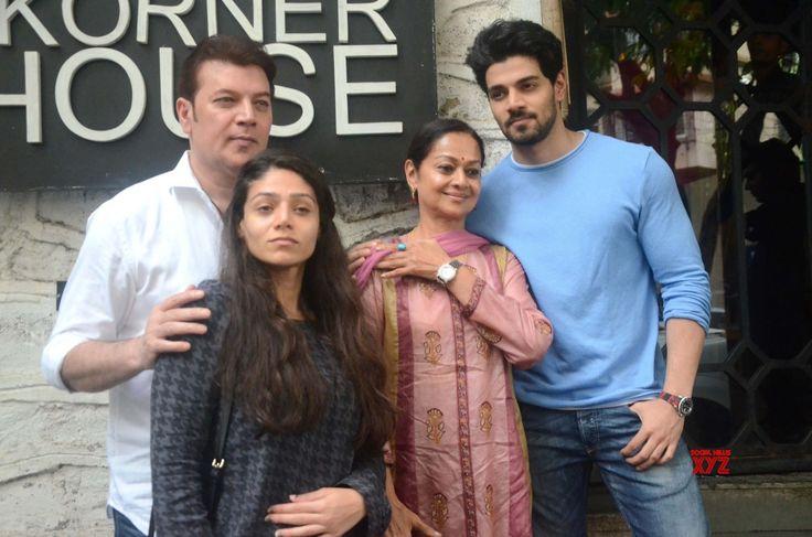 Mumbai: Aditya Pancholi, Zarina Wahab at a restaurant - Social News XYZ