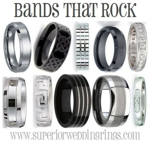 Mais de 1000 imagens sobre Mens wedding bands no Pinterest