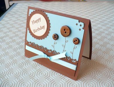 SBDBiglietto Compleanno Cocoa Sky - Birthday Card Cocoa Skyby SweetBioDesign