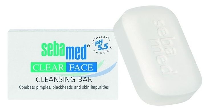Sebamed Clear Face Cleansing Bar Buy Online at Best Price in India: BigChemist.com