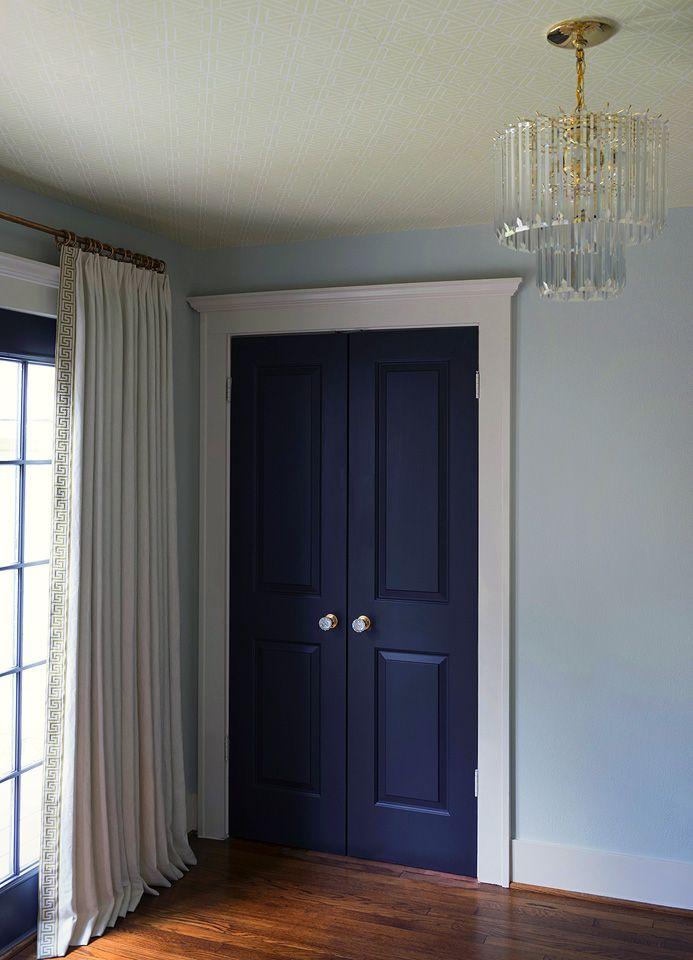 Navy Blue Interior Doors Love Portfolio Pineridge
