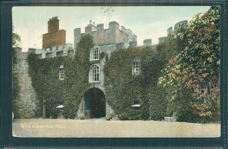 WORKINGTON HALL, CUMBERLAND. PRINTED, 1906. In very good condition, see scan. | eBay!