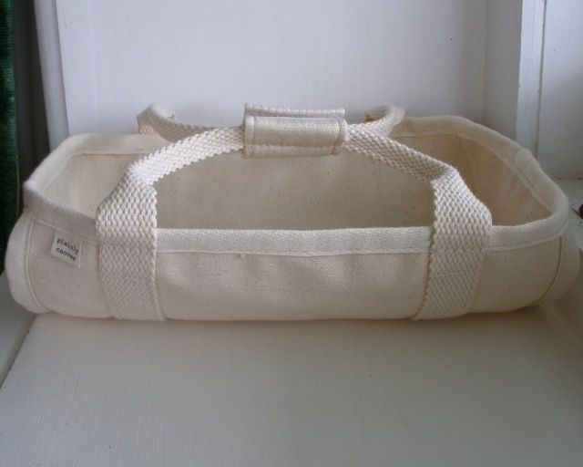 canvas dolls bed with velcro flap