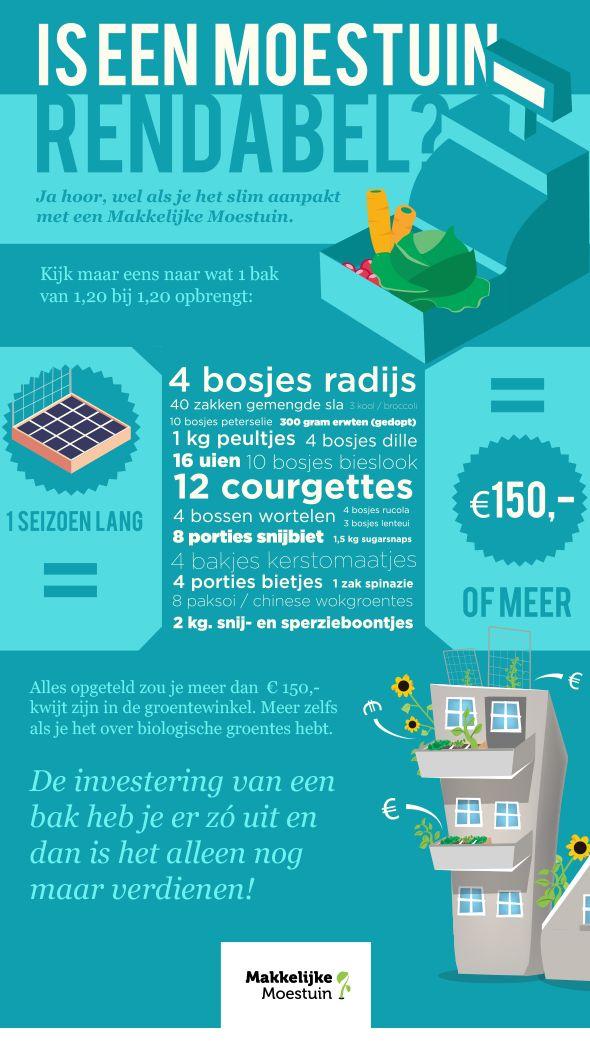 De beste investering met het hoogste rendement: verdienen met een Makkelijke Moestuinbak  investering finansering med ndgroup.se