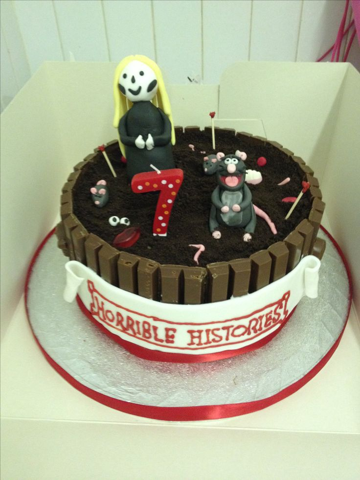 Horrible Histories Birthday Cake