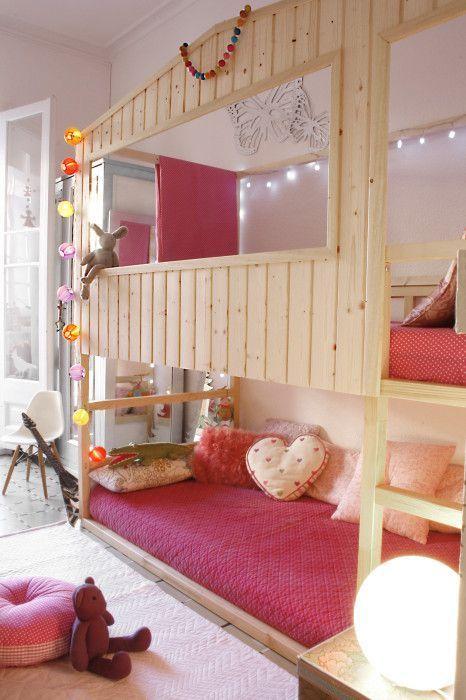 Ikea Kura Hack Cozy Cabin Kids Room Ideas In 2018 Pinterest