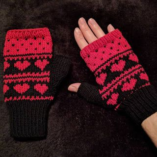 witchnofret handcraft: Love Mittens