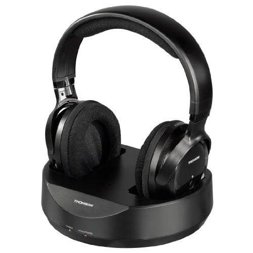 Sale Preis: Thomson WHP3001BK Funkkopfhörer mit Ladestation (Over-Ear, PLL-System, Reichweite 100 m, 863 MHz) schwarz. Gutscheine & Coole Geschenke für Frauen, Männer & Freunde. Kaufen auf http://coolegeschenkideen.de/thomson-whp3001bk-funkkopfhoerer-mit-ladestation-over-ear-pll-system-reichweite-100-m-863-mhz-schwarz  #Geschenke #Weihnachtsgeschenke #Geschenkideen #Geburtstagsgeschenk #Amazon