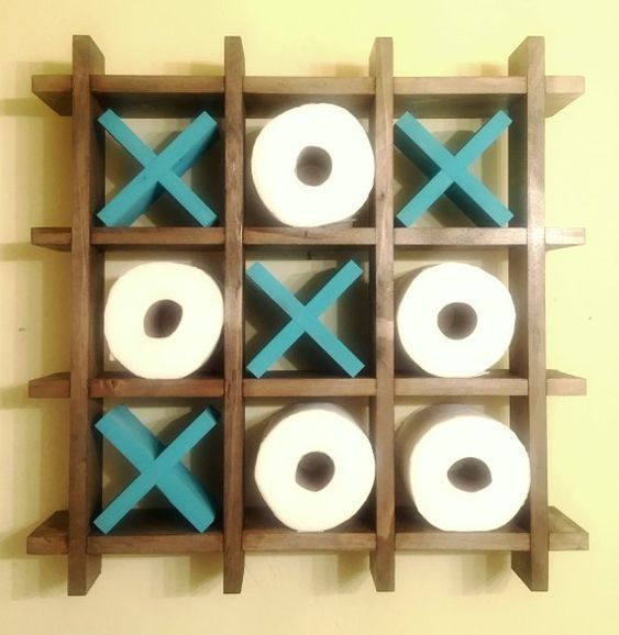Pin On Tic Tac Toe Toliot Paper Holder