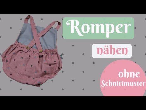 Romper / Latzhose selber nähen OHNE Schnittmuster – Einfache Nähanleitung für… – Despina Zarkadas