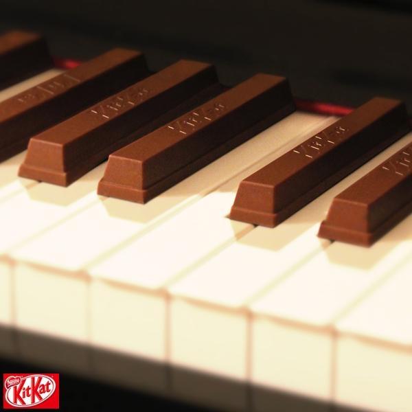 美味しそうな鍵盤ですね~^^