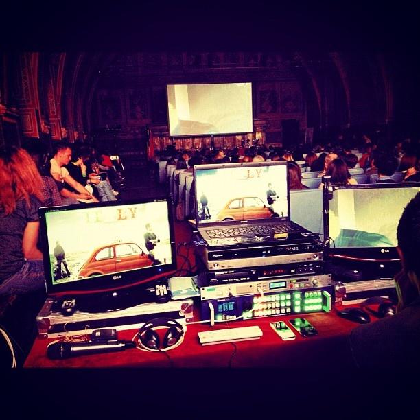 video direction: Journals Festivals, International Journals, Festivals 2012