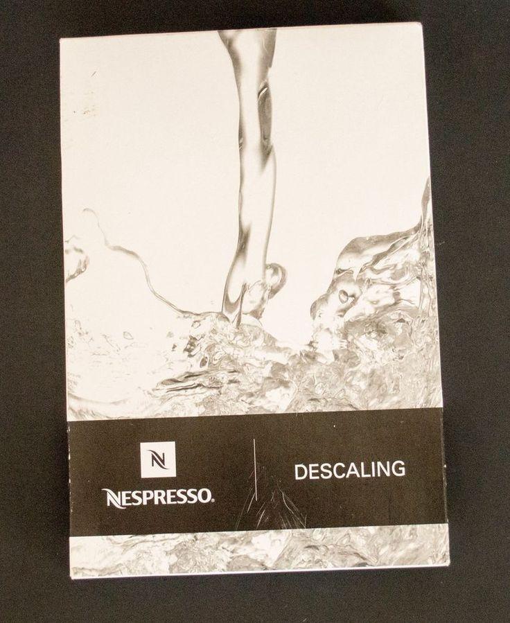 nespresso delonghi lattissima descaling instructions