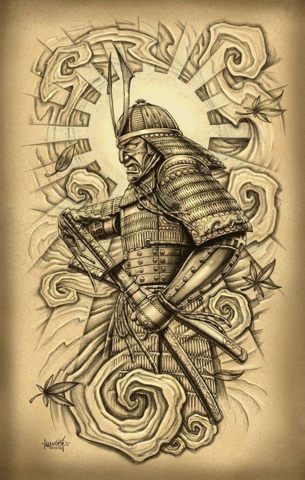 оптимизации восприятия картинки для тату в виде самурая расскажем вам как