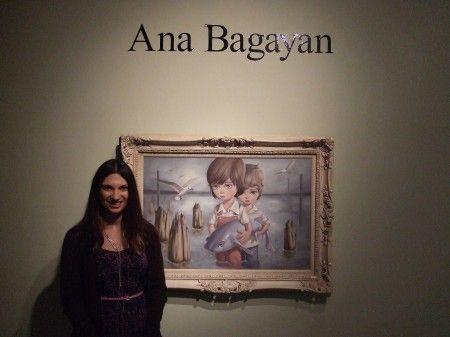 Pop surrealist Ana Bagayan