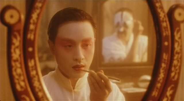 """FAREWELL MY CONCUBINE"". (1993). Director: Kaige Chen// The story of two men, who met as apprentices in the Peking Opera, and stayed friends for over 50 years.Stars: Leslie Cheung, Fengyi Zhang and Li Gong."