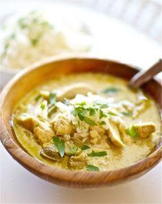 Curry verde de pollo, receta tailandesa con Thermomix « Thermomix en el mundo