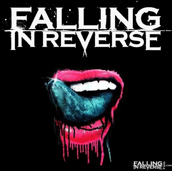 falling in reverse logo lips wwwpixsharkcom images