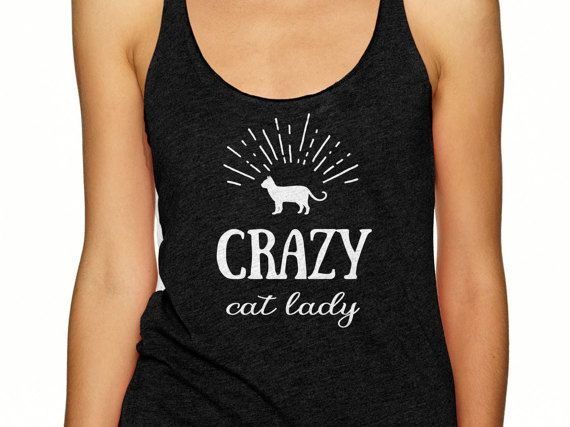 For all the cat lovers out there, this racerback tank shirt is for you! Shop my designs on Etsy (use coupon code pinterest10 for 10% off your order). #catshirt #catlove #cattank #crazycatlady #catlover #catlady #kitten #cat #catgift