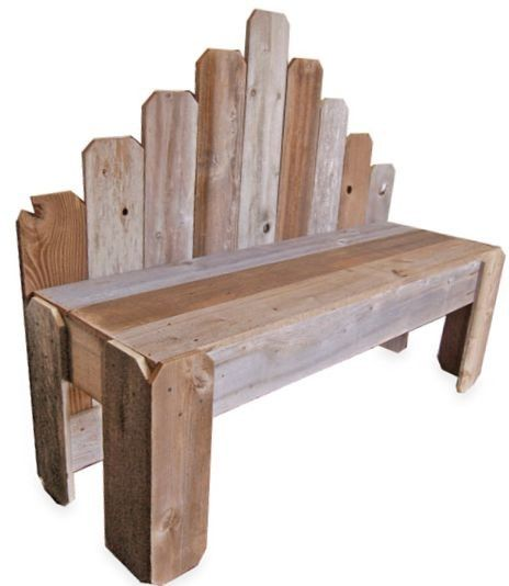Recycled Wood Bench. What's Country Now. OVER 4 by TRUECONNECTION