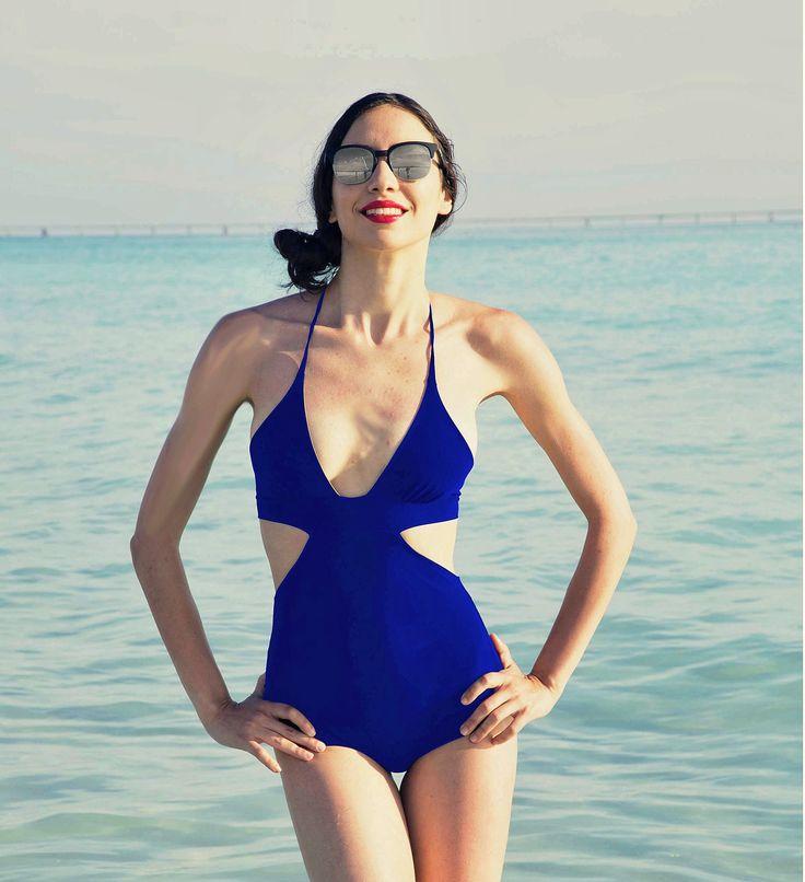 Clio one-piece reversible swimwear