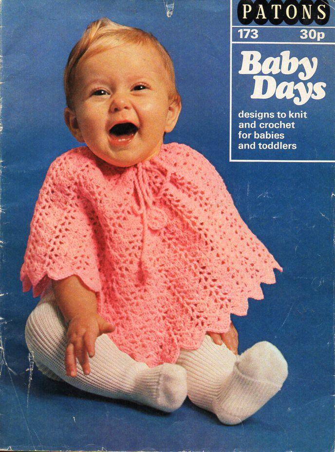 134 besten Vintage Baby & children Crochet Patterns Bilder auf Pinterest