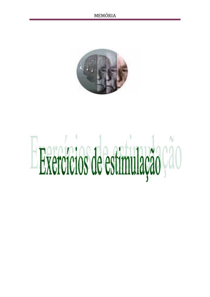 Exercícios de estimulação - Alzheimer by Helena13dias via slideshare