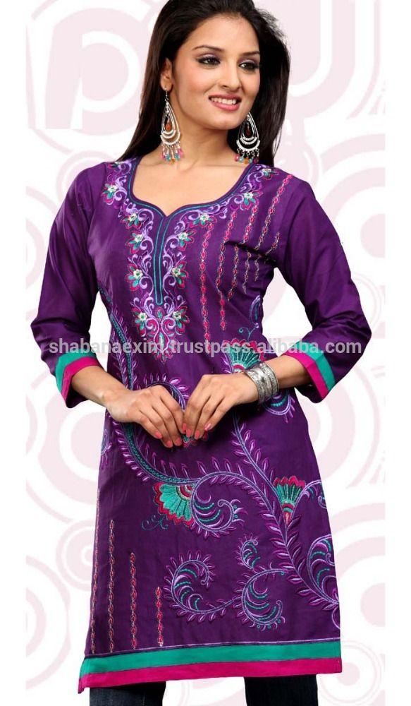 Check out this product on Alibaba.com App:hot selling 2015 designer long tunic dress, indian traditonal pakistani kurti design, beautiful gorgette kurti https://m.alibaba.com/bAjUR3