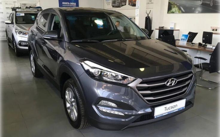 Hyundai Tuscon получил в России новые версии