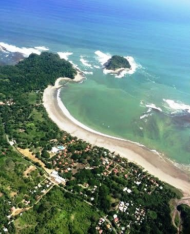Nosara Costa Rica aerial view