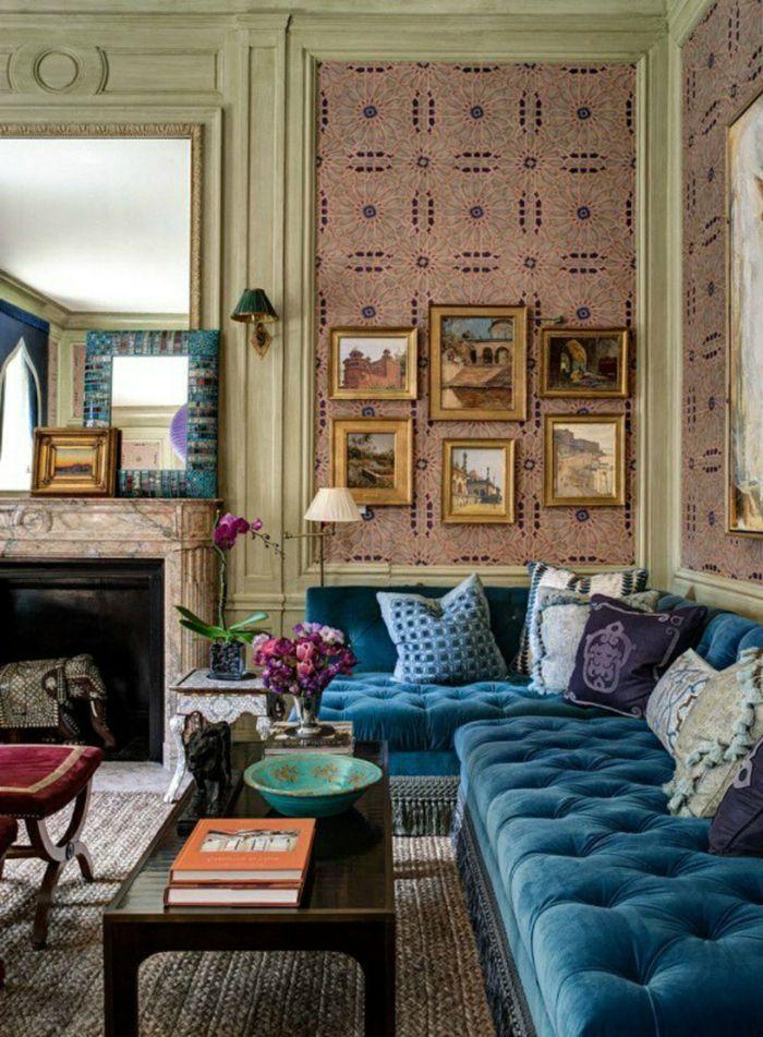 Farbgestaltung Wohnzimmer Blau. die besten 25+ wandfarbe türkis ...