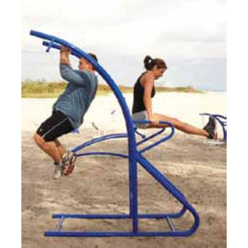 Outdoor Fitness and Playground Pull Up Station from DunRite Playgrounds http://www.dunriteplaygrounds.com/store