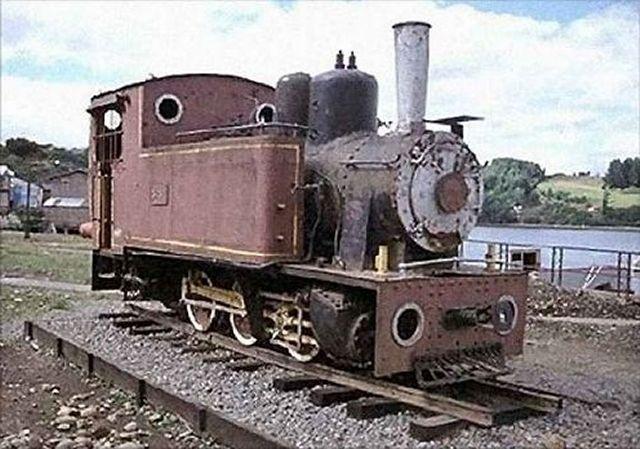 Locomotora Henschel en Castro