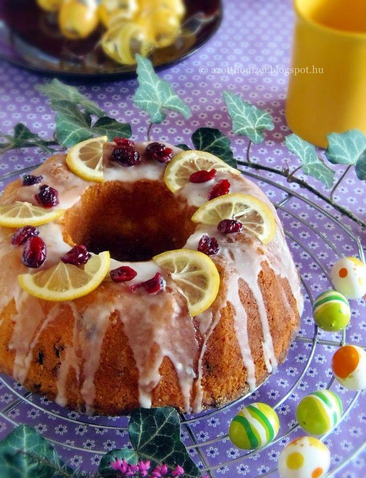 Az otthon ízei: Áfonyás-citromos kuglóf