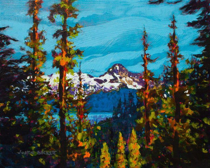 Justin Beckett, Canadian Painter, Artwork | JUSTIN BECKETT