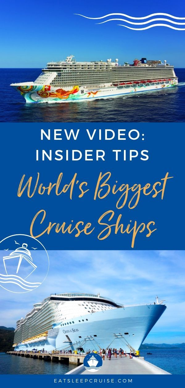 In Our Latest Video We Give You Our Top 12 Insider Tips For Sailing On The World S Largest Cruise Ships From Ro Biggest Cruise Ship Cruise Ship Cruise Travel