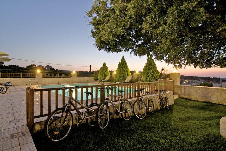 www.eleftherna.gr Villa Eleftherna Crete #villa #Crete #Greece #village #holidays #vacation_rental #luxury #private #summer_in_greece #visit_crete #pool #holiday #cycling