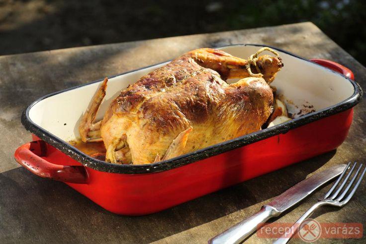 Töltött csirke recept Készítsd el akár 2, vagy 12 főre, a Receptvarazs.hu ebben is segít!
