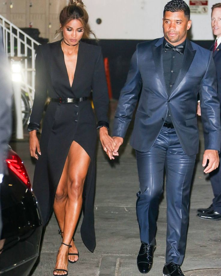 Russell Wilson and Ciara TBT# faves ❤ ❤ #russellwilson arm in arm with his Queen #ciara