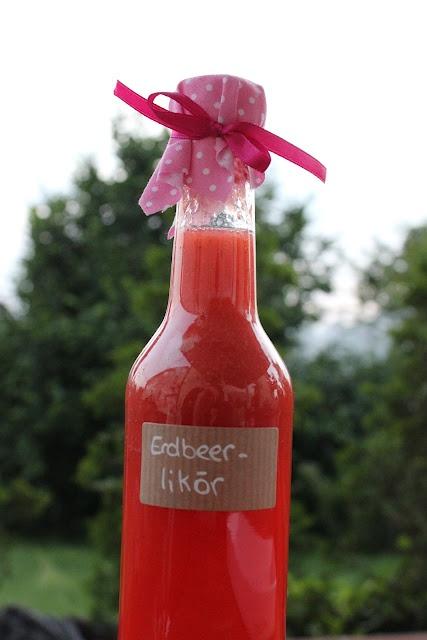 Erdbeer-Likör