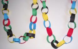 Olympic rings crafts