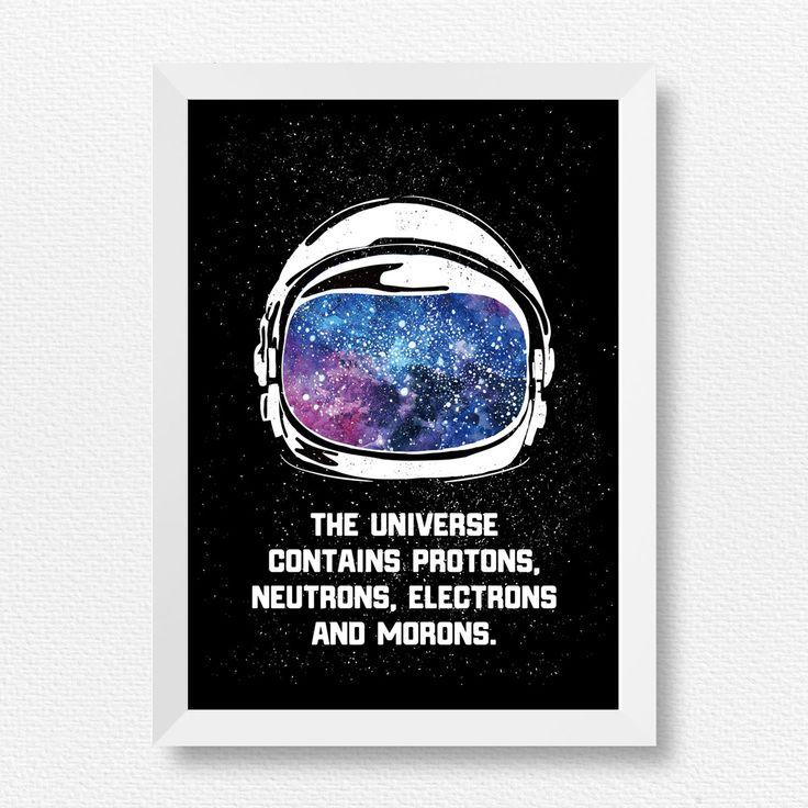 宇宙は4つの原子でできている – Prese プレゼ|Prese プレゼ|オリジナルのおしゃれなインテリアポスター、アートポスター