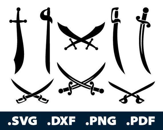 Gekreuztes Schwert Cartoon Illustration, Gekreuzte Schwerter, Waffen, Kalte  Waffen PNG und Vektor zum kostenlosen Download
